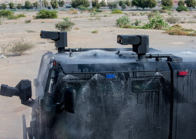 AWC | Armored Water Cannon for Homeland Security Missions
