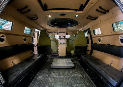 MMV | Armored Multi Mission Vehicle 4 x 4 for Homeland Security Missions